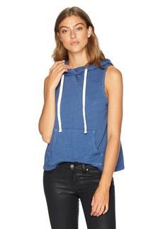 Monrow Women's Sleeveless Pullover Hoody