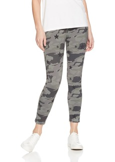 Monrow Women's Sporty Legging with Camo Star  Extra Small