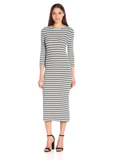 Monrow Women's Stripe Sweater Dress  XS