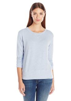 Monrow Women's Super Soft Crew Neck Sweatshirt  M