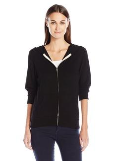 Monrow Women's Super Soft Zip up Hoody  XS