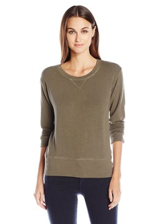 Monrow Women's Supersoft Crewneck Sweatshirt  M