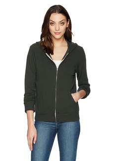 Monrow Women's Supersoft Zip UP Hoody  Extra Small