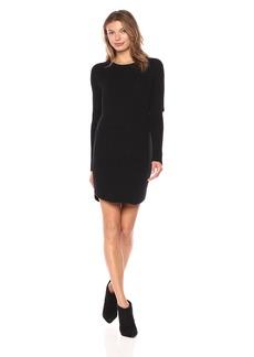 Monrow Women's Sweater Dress With Elbow Slash  XS