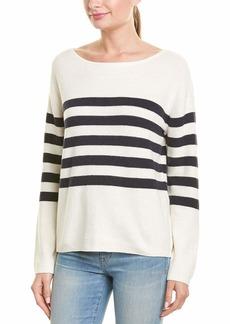 Monrow Women's Sweater w/Stripes