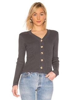 MONROW Wooden Button Cardigan