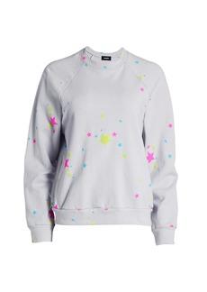 Monrow Neon Star Sweatshirt