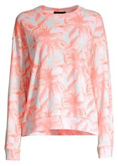 Monrow Palm Sweatshirt