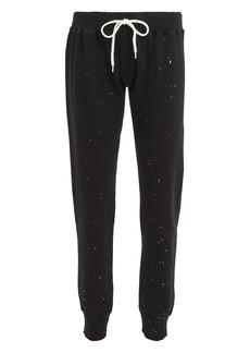 Monrow Splatter Black Sweatpants