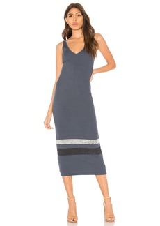 Monrow Striped Tank Dress