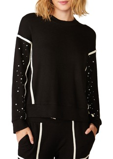 Monrow Super Soft Sweatshirt with Seamed Binding