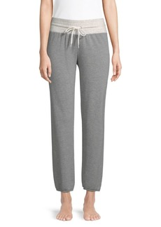 Monrow Supersoft Two-Tone Joggers