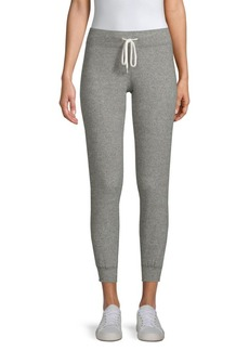 Monrow Thermal Waffle-Knit Joggers