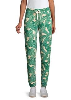 Monrow Vintage Banana Leaf Sweatpants