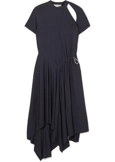 Monse Asymmetric Cutout Stretch-jersey Dress
