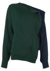 Monse asymmetric neck jumper
