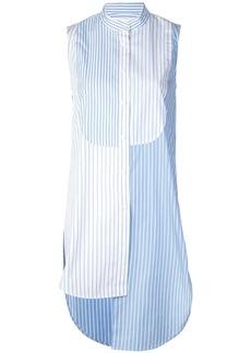 Monse asymmetric striped shirt