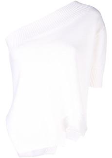 Monse asymmetrical knit top