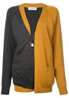 Monse bicolour layered cardigan