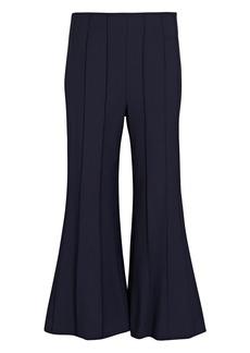 Monse Cropped Pintuck Virgin Wool Trousers