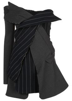 Monse deconstructed asymmetric dress