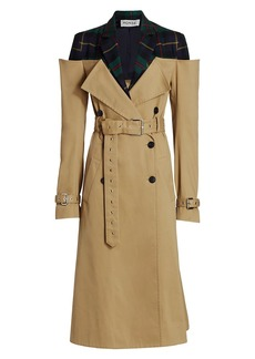 Monse Deconstructed Belted Trench Coat