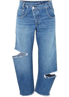 Monse Distressed boyfriend jeans