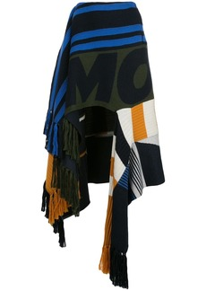 Monse draped patchwork skirt