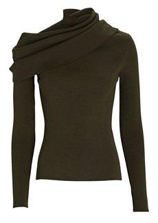 Monse Foldover Turtleneck Sweater