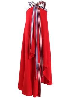 Monse halter-neck flared dress
