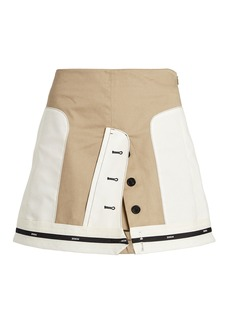 Monse Inverted Cargo Mini Skirt