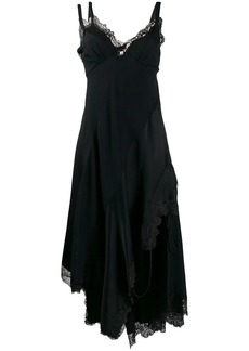 Monse lace embroidered flared dress