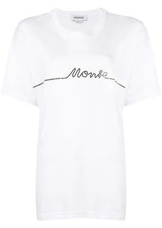 Monse line print logo T-shirt