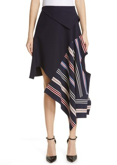 Monse Deconstructed Stripe Skirt