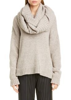 Monse Donut Knit Merino Wool Sweater
