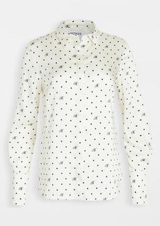 Monse Dot Drape Back Shirt