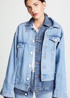 Monse Double Collar Denim Jacket