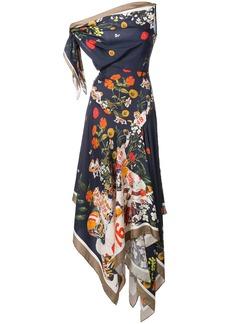 Monse floral print handkerchief dress - Multicolour
