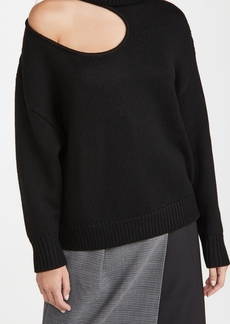 Monse Kidney Bean Cutout Sweater