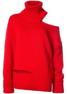 Monse one shoulder knit jumper