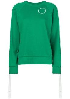 Monse press stud sleeve sweatshirt