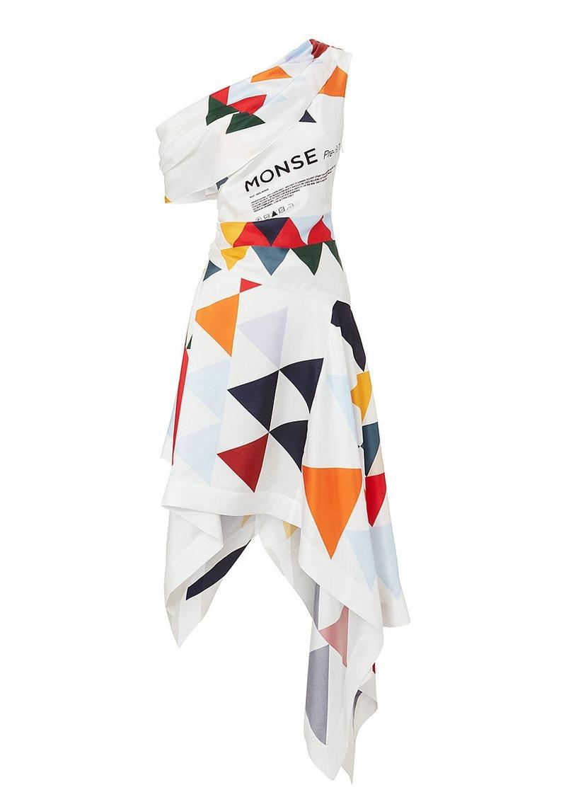 Monse Print Scarf Dress