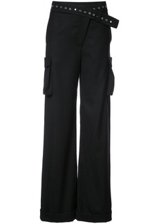 Monse Tuxedo Cargo trousers - Black