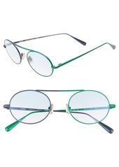 Monse x Morgenthal Frederics Nina 50mm Round Sunglasses