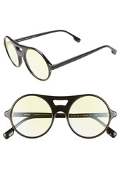 Monse x Morgenthal Frederics Robin 52mm Round Sunglasses