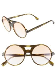 Monse x Morgenthal Frederics Robin 52mm Round Sunglasses