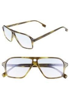 Monse x Morgenthal Frederics Traci 57mm Square Sunglasses
