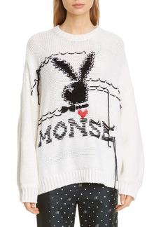 Monse x Playboy Merino Wool Sweater