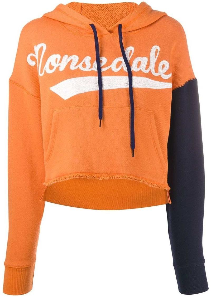 'Monsedale' cropped hoodie