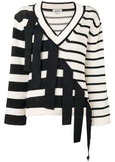 Monse multi-pattern knit sweater